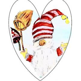 I Heart Gnomes by Eloise Schneider Mote