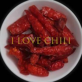 I Love Chili by Johanna Hurmerinta
