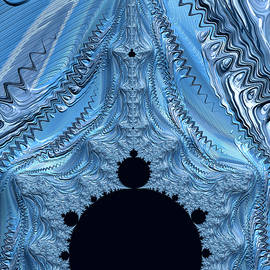 Ice Castle Curtain by Barbara Zahno