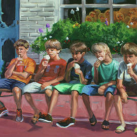 Ice Cream in Cape May by Jamie Pogue