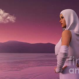 Ice Desert Traveler by LeBlanc Studio