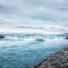 Icebergs Headed To The Sea by Francis Sullivan