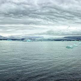 Icelandic Glacier Lagoon by Francis Sullivan