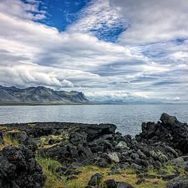 Icelandic Landscape Near Budir by Francis Sullivan