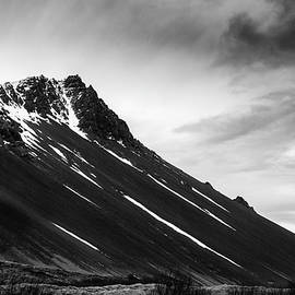 Icelandic volcano mountain  in winter in Iceland by Michalakis Ppalis
