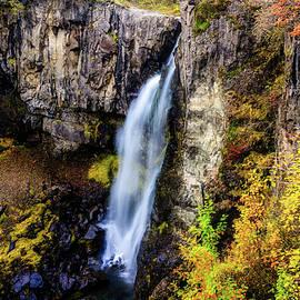 Iceland's Waterfall by Jan Fijolek