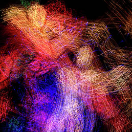 ICM - City Light Spirits, Abstract Light Painting, Photographic Print by Eric Abernethy