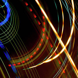 ICM - Feels Like Music, Abstract Light Painting, Photographic Print by Eric Abernethy