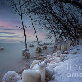 Icy Layers by Andrew Slater