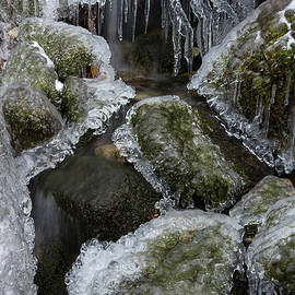Icy Winter Cascade by Chris Whiton