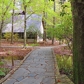 Ida Cason Callaway Memorial Chapel in the Forest by Marian Bell