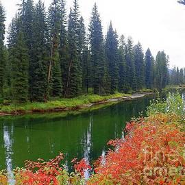 Idaho Journey, Payette River, Idaho Scenery Art Print by Art Sandi