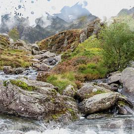 Idwal Watercolour by Darren Wilkes