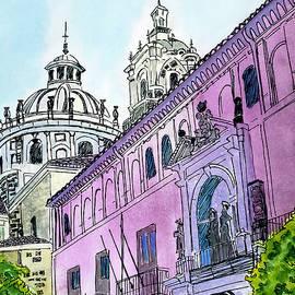 Iglesia de San Justo by Deborah League