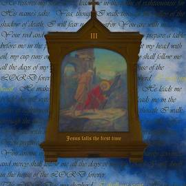III Jesus Falls The First Time by Joan Stratton