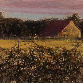Impression of a Rogue Valley Farm by Mick Anderson