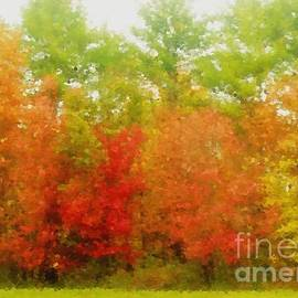 Impressionistic Foliage by Lori Lafargue