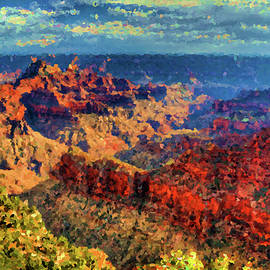 Impressions of Grand Canyon by Alexey Stiop