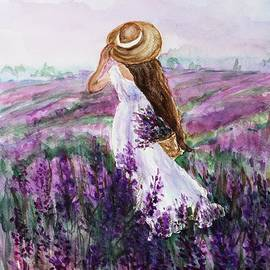 In A Field Of Lavender by Vesna Martinjak