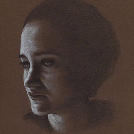 In Shadow/girl by Eddie Torres