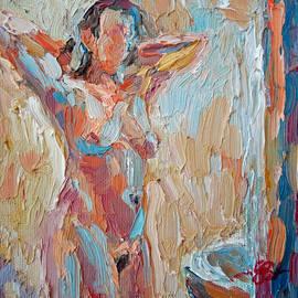 In the Bathroom by Stefan Boettcher