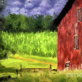 In The Cornfield by Lois Bryan