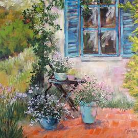 In the garden by Cathy MONNIER
