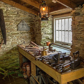 In the old toolshed by Robert Murray