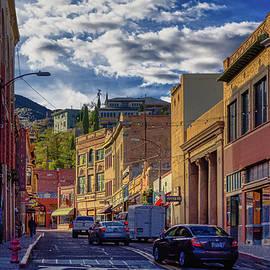 In the streets of Bisbee Arizona by Tatiana Travelways