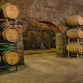 In the Wine Cellar by Eleanor Bortnick
