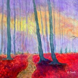 In The Woods by Anne Sands