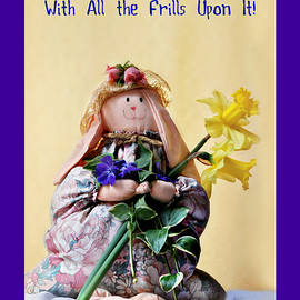In Your Easter Bonnet Greeting Card by Marilyn DeBlock
