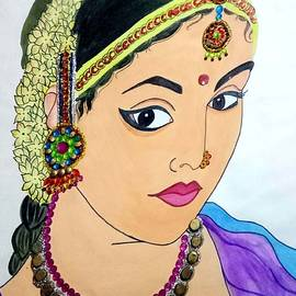 Indeed beauty by Sindhuja Jaiswal
