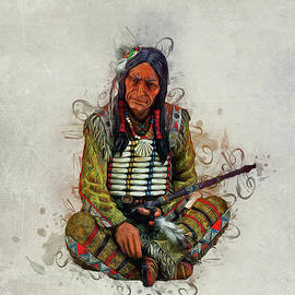 Indian Chief by Ian Mitchell