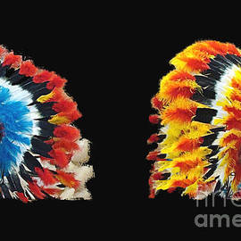 Indian Headdresses by Janette Boyd