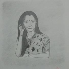 Indian Lady by Prerna Singh Baghel
