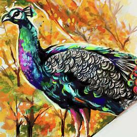 Indian Peacock by Savi Singh