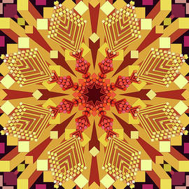 Industrial Mandala by Grace Iradian