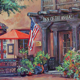 Inn Of The Anasazi  by David Lloyd Glover