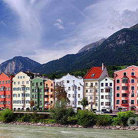 Innsbruck Riverside by Douglas Taylor