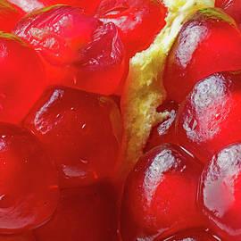 Inside of a Pomegranate - Macro by Bipul Haldar