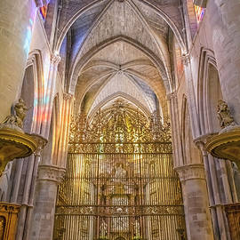 Inside the Cathedral Cuenca Spain by Joan Carroll
