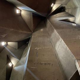 Inside the church with no artificial light by Brigitta Diaz