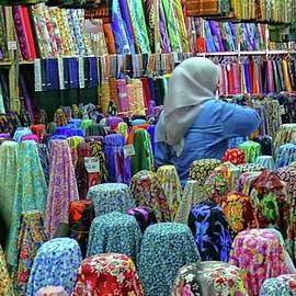 Inside the textile shop by Robert Bociaga