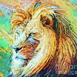 Intent Lion by Tina LeCour