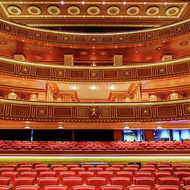 Interior of Royal Opera House, Muscat by Alexey Stiop