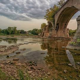 Interurban Railroad Bridge side view by Jamison Moosman