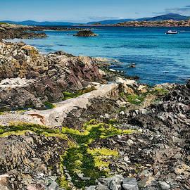 Iona Beach View - Scotland by Stuart Litoff