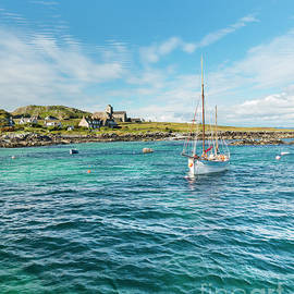 Iona, Inner Hebrides, Scotland by Justin Foulkes