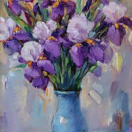 Irises by Plamen Petkov